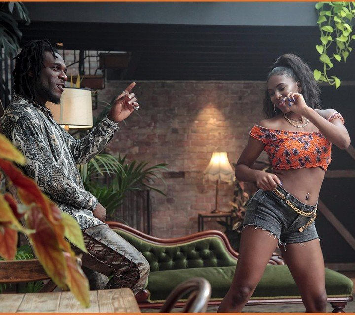 Meet the Video vixen in Burna boy's on the low – Paragon Page